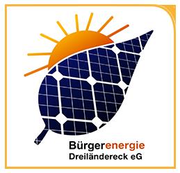 Logo Bürgerenergie Dreiländereck eG