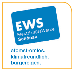 Logo Elektrizitätswerke Schönau.